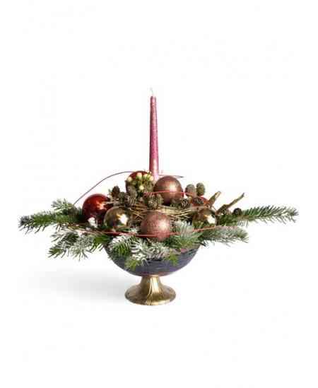 "Compoziția florală ""Merry Christmas"""