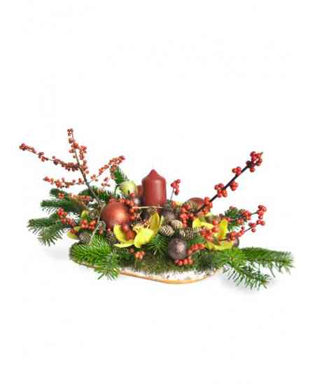 """Compoziția florală """"December"""""""