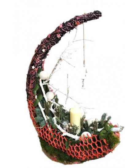 "Christmas composition ""Crescent"""
