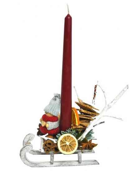 Мини Рождественская Санка