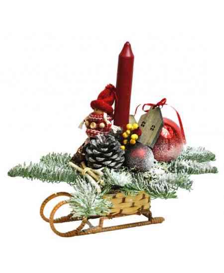 Рождественские Cанки маленькие (C026)