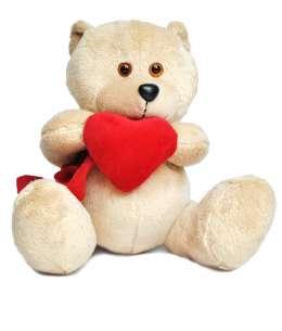 Ursuleț cu Inimă 20cm ↑