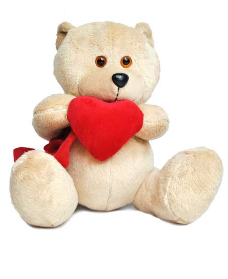 Bear with Heart 20cm ↑