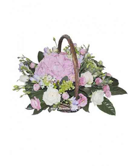 "Flowers basket ""Sweet dreams"""