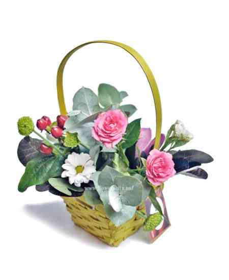 "Basket of flowers ""Powers of nature"""