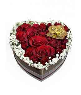 """Сердце из цветов """"Марта"""""""
