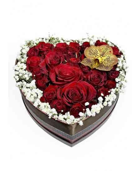 "Inimă din trandafiri ""Marta"""