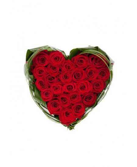 """Сердце из цветов """"Сердце из роз"""""""