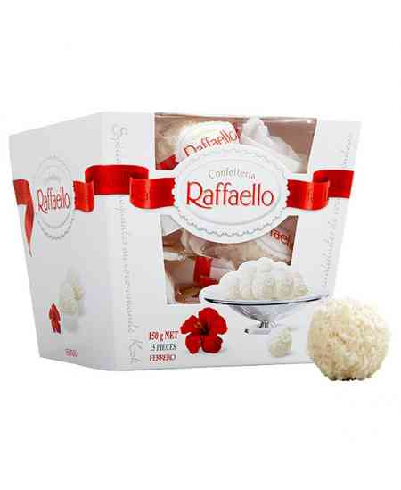 Chocolates Raffaello 150g