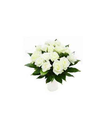"Белые розы ""Нидерланды"" 40-50см"