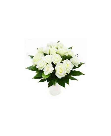 """White roses """"Netherlands"""" 40-50cm"""