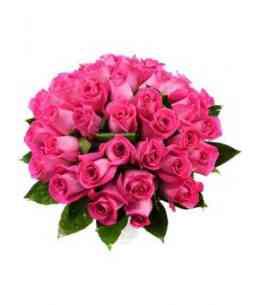 """Trandafiri roz """"Olanda"""" 40-50cm"""