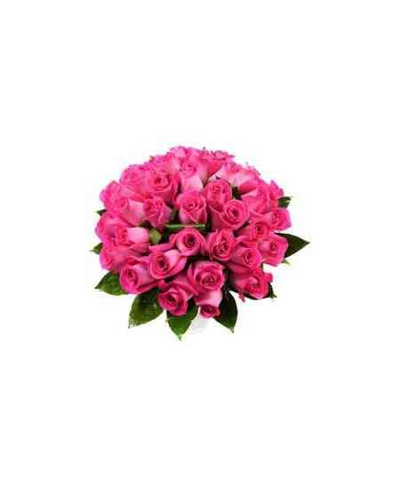 """Розовые розы """"Нидерланды"""" 40-50см"""