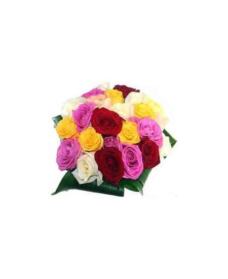 """Разноцветные розы """"Нидерланды"""" 40-50см"""