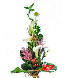 "Bouquet ""Green Tower"""