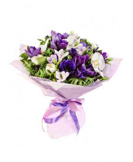 "Buchet ""Purple blues"""