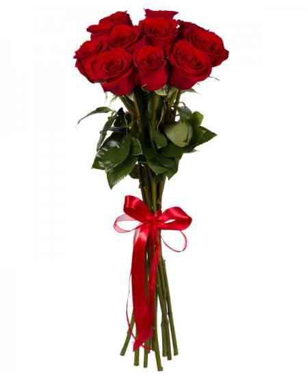 """Красные розы """"Голландия"""" 80-90см"""