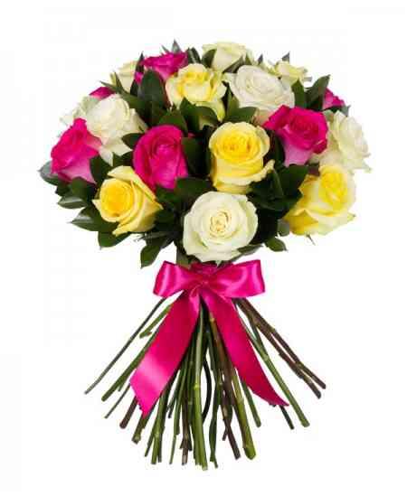 "Trandafiri multicolor ""Olanda"" 80-90cm"
