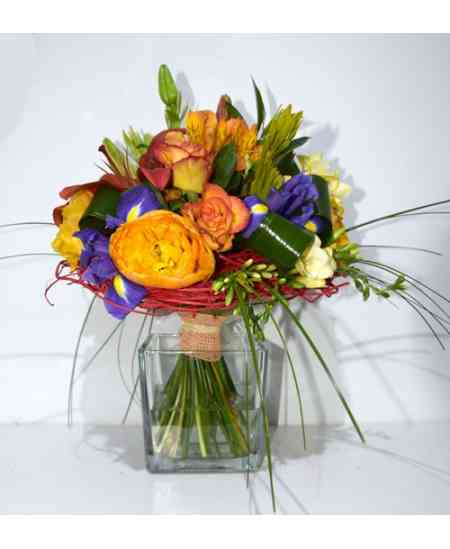 """Composition """"Mix of Flowers"""""""