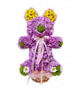 "Flower bear ""Pink Teddy"""