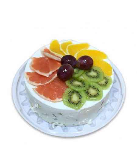 Торт с фруктами - 1 kg