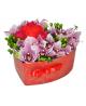 Сердце из 15 орхидей