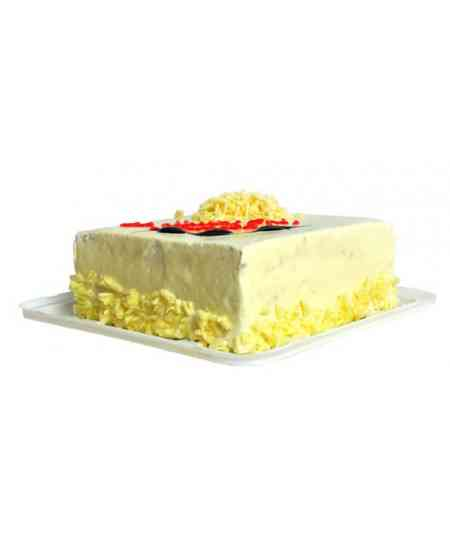 Белый шоколадный торт 1кг