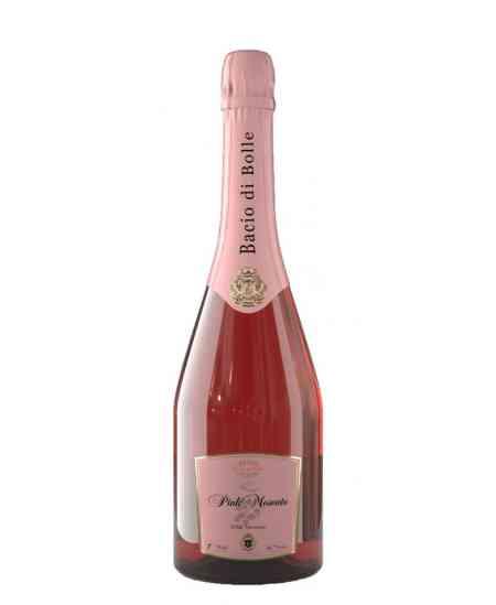 """Șampanie """"Bacio di Bolle"""" Pink 0.7l"""