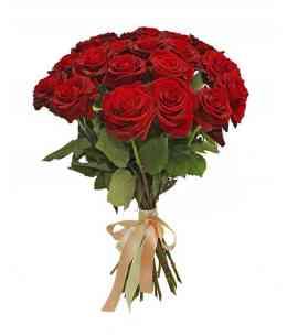 "Buchet din 21 Trandafiri roșii ""Olanda"" 40-50cm"