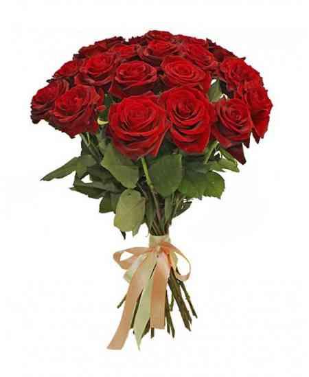 """Букет из 21 красных роз """"Нидерланды"""" 40-50см"""