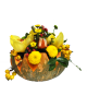 Halloween floral composition 05